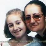 Con su madre en Madrid en mayo de 1986