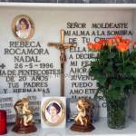 Sepultura de Rebeca desde su muerte el 26 de mayo de 1996