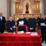 Miembros del Tribunal Eclesiástico presididos por Mons. Rafael Palmero Ramos
