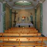 Capilla del Santísimo donde Rebeca enseñaba a rezar a los niños de Precomunión