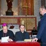 El Sr. D. José Damián Rocamora Rocamora presta juramento como Notario Actuario
