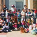 En una excursión con los niños de catequesis