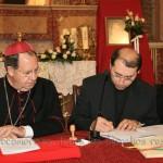 El promotor de justicia Rvdo. D. José Luis Casanova Cases firma haber cumplido con fidelidad su trabajo