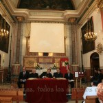 La mesa constituida para la clausura de la fase diocesana del proceso de Rebeca