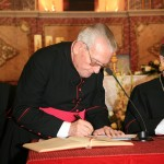 Mons. José Fuentes Martínez, juez delegado, firma haber cumplido su cargo